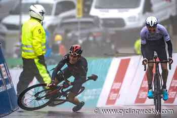 Geraint Thomas crashes in finale of Tour de Romandie stage four as Woods takes win and race lead