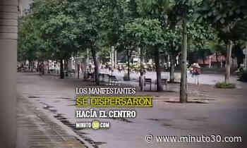 EN VIDEO: ¡Se prendió 'la vuelta'! Se registran enfrentamientos en el sector de La Alpujarra - Minuto30.com