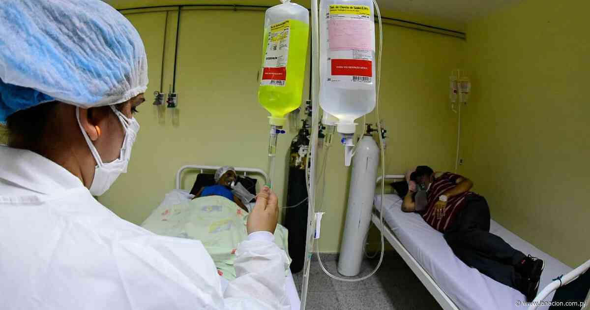 Pabellón de contingencia de Guarambaré recibió a sus primeros pacientes respiratorios - La Nación