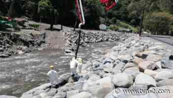 Logran retornar corrientes del río Chiriquí Viejo a sus puntos originales tras afectaciones de Eta e Iota - TVN Noticias