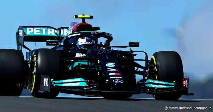 F1, qualifiche in Portogallo: Valtteri Bottas toglie a Hamilton la pole numero 100