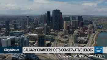 Conservative leader addresses Calgary Chamber of Commerce - 660 News