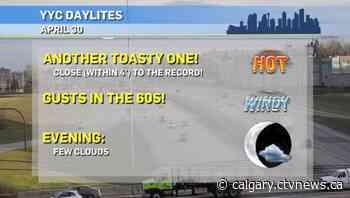 Calgary weather for Friday, April 30 - CTV Toronto