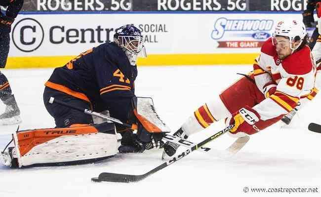 Lindholm scores twice as Calgary Flames defeat the Edmonton Oilers 3-1 - Coast Reporter