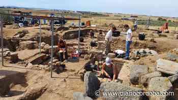 Una losa funeraria descubierta en Añora revela un texto único en Hispania y en el Occidente latino - Diario Córdoba