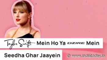 Mumbai Police shares Lyrics of Safety featuring Taylor Swift and Harry Styles. Read here - India Today