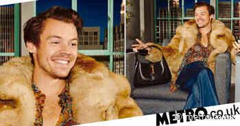 Harry Styles makes stunning case for all men to rock handbags - Metro.co.uk