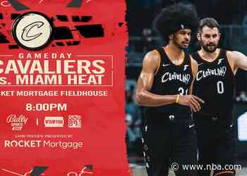 Cavs vs Heat | Rocket Mortgage Game Preview