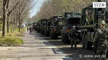 Versorger üben in Hagenow: Großübung für die NATO-Mission in Litauen   svz.de - svz – Schweriner Volkszeitung