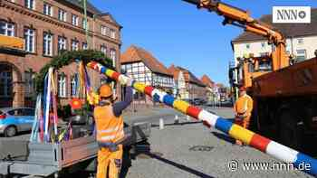 Hagenow hält an Tradition fest : Die Maibäume stehen bereits   svz.de - nnn.de