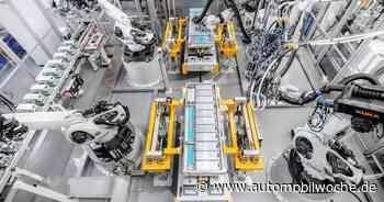 Blaupause für andere Webasto-Batteriewerke: Kuka-Anlage in Schierling hat Vorbildcharakter - Automobilwoche
