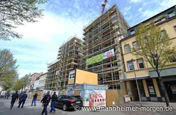 Ludwigshafener Innenstadt: Rohbau am Bürgerhof-Entree fertig - Ludwigshafen - Nachrichten und Informationen - Mannheimer Morgen