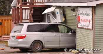 Minivan crashes into Corner Brook flower shop | Saltwire - SaltWire Network
