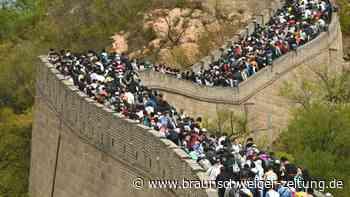 Stau auf der Chinesischen Mauer