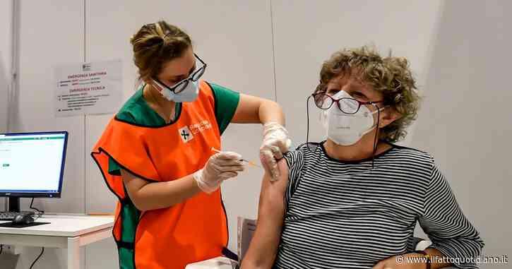 Vaccini, 6 milioni di persone hanno ricevuto anche il richiamo: è il 10% della popolazione. Superate le 20 milioni di somministrazioni