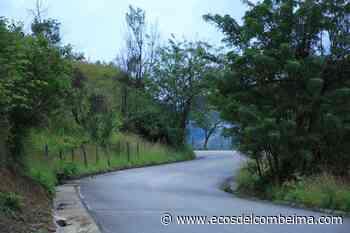 Arrancó contratación para la terminación de la vía Chaparral – Rioblanco - Ecos del Combeima