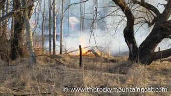 Valemount grass fire drill – The Rocky Mountain Goat - The Rocky Mountain Goat