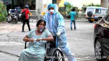Corona-Pandemie: Bitterer Rekord: Mehr als 400.000 Neuinfektionen in Indien