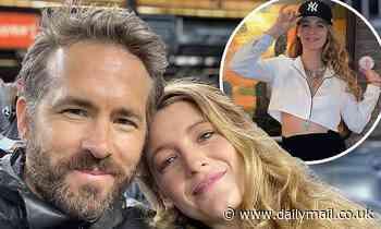 Ryan Reynolds share rare selfie with wifeBlake Livelyfrom a romantic date night at Yankee Stadium