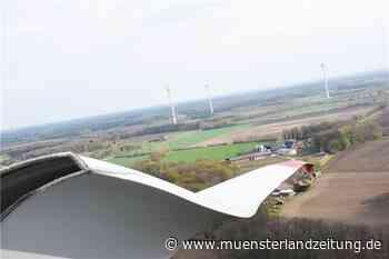 Mit Video und Fotos: Blick aus dem Kopf eines 108 Meter hohen Windrades - Münsterland Zeitung