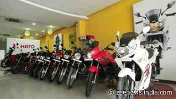 Hero MotoCorp reports a 35% dip in sales in April