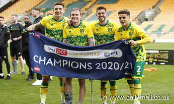 EFL ROUNDUP: Norwich crowned Championship winners while Southend dumped out of the Football League