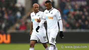 Crystal Palace striker Jordan backs brother Andre Ayew and Swansea City for Premier League promotion