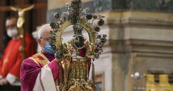 Il sangue di San Gennaro non si è sciolto dopo la messa nel duomo di Napoli. E' la seconda volta di seguito