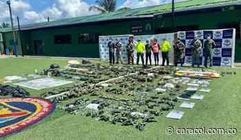 Destruido campamento de entrenamiento de las disidencias en Timbiquí, Cauca - Caracol Radio