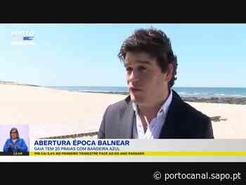 """Vila Nova de Gaia com """"orgulho"""" por manter todas as praias com Bandeira Azul - Porto Canal"""