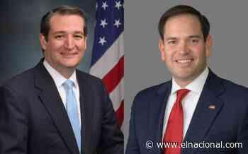 Los senadores Rubio y Cruz presentaron ley PANA para dirigir fondos incautados al régimen en favor de los venezolanos - El Nacional