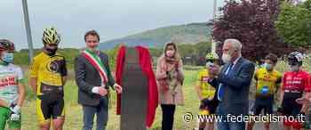 Calenzano - Svelato il totem dedicato ad Alfredo Martini - Il Mondo del Ciclismo