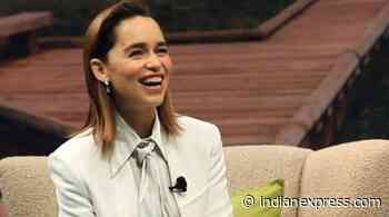 Emilia Clarke reveals the book that helped grieve her father's death - The Indian Express