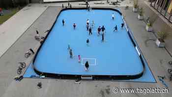 Toggenburg News: Street Floorball in Ebnat-Kappel - St.Galler Tagblatt