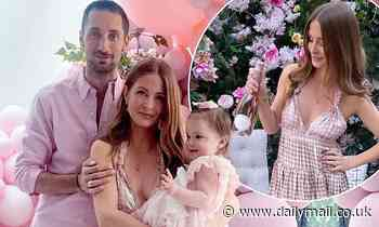 Millie Mackintosh and Hugo Taylor celebrate daughter Sienna's first birthday with pink-themed bash