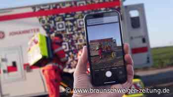 Rettungseinsätze: Gegen Gaffer: Johanniter drucken QR-Codes an Rettungswagen