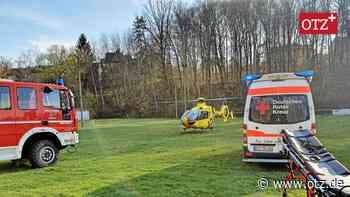 Senior bei Sturz von Dach in Hirschberg schwer verletzt - Ostthüringer Zeitung