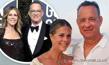 Rita Wilson gushes about husband Tom Hanks as couple celebrate their 33rd wedding anniversary