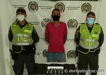 Dos presuntos expendedores de estupefacientes fueron capturados en Chibolo y Pivijay - Diario La Libertad