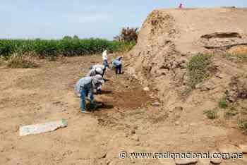 La Libertad: inician trabajos en huaca donde hallaron pintura de hace 3200 años - Radio Nacional del Perú