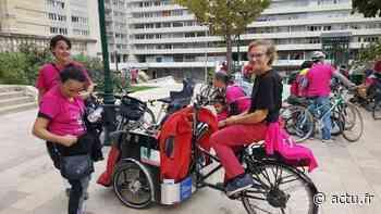 Boulogne-Billancourt. Les personnes en fauteuil roulant ont aussi droit aux balades à vélo - actu.fr