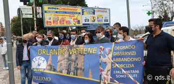 Ponti e sicurezza a Palermo, manifestazione in via Oreto - Quotidiano di Sicilia