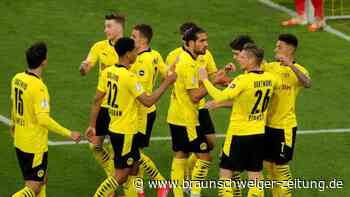 DFB-Pokal: Effizienter BVB nach klarem Sieg gegen Kiel im Pokalfinale