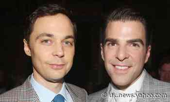 Jim Parsons and Zachary Quinto on the pressure to be a 'good gay role model' - Yahoo News UK