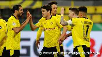 BVB überrollt Kiel - Pokalfinale gegen Leipzig