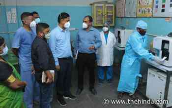Coronavirus   Chennai's largest triaging centre for COVID-19 opens - The Hindu