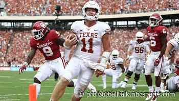 Colts draft Texas QB Sam Ehlinger