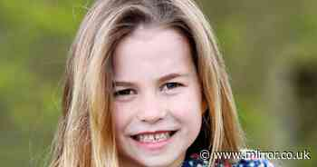 Cheeky Princess Charlotte beams in adorable 6th birthday snap taken by mum Kate