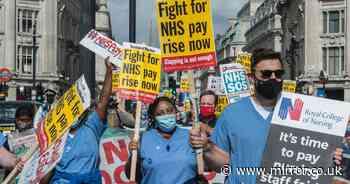 NHS bosses earning £300,000-a-year plus bonuses in 'slap in the face' to nurses