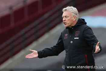 David Moyes questions West Ham treatement by referees and broadcasters